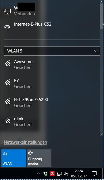 ALFA WLAN Adapter unter Windows 10 - Schritt 4