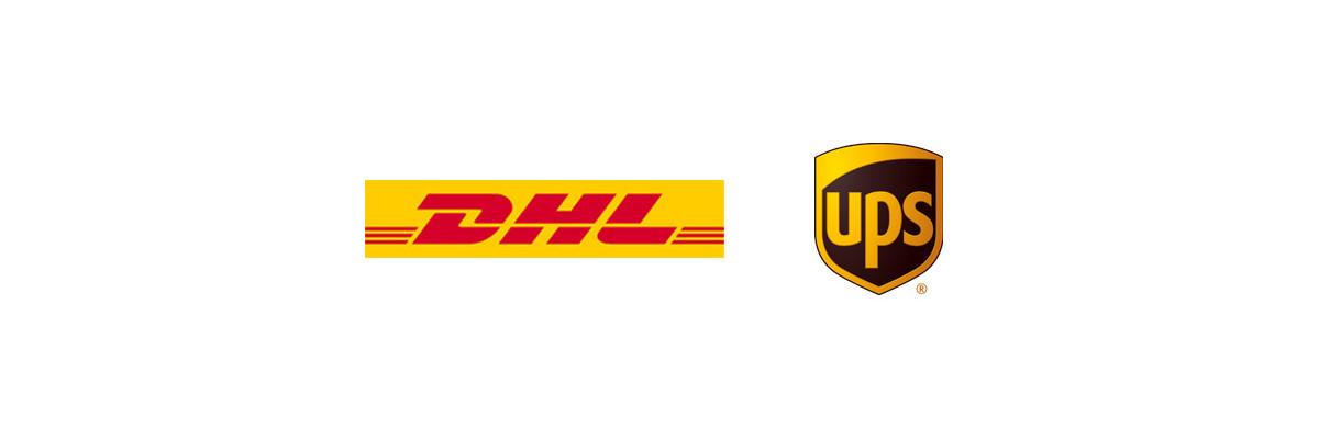 DHL als neuer Lieferdienst - WLAN-Shop24.de   Lieferung mit DHL & UPS