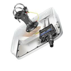Ansicht der Unterseite mit Kabeldurchführung für ein Ethernet Kabel