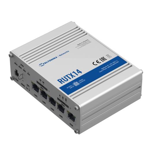 TELTONIKA RUTX14 LTE Router mit zwei integrierten LTE Modems (Dual WAN)