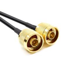 5m Dual Antennenkabel für LTE Antennen mit N Stecker /...