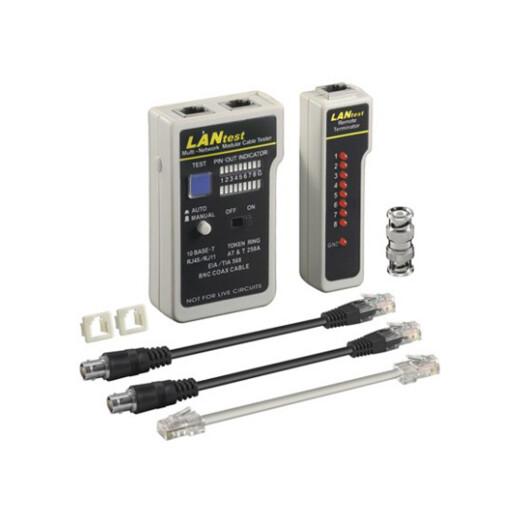 Ethernet / Netzwerk Kabeltester - UTP, STP, RJ45, RJ11, RJ12
