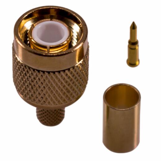 TNC Stecker für H-155, RF-5, RF-240 Kabel
