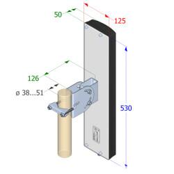 Interline SECTOR V90 - 2.4 GHz WLAN Sektor Antenne, 90°...
