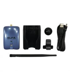 ALFA Networks AWUS036NHV - Lieferumfang mit WLAN Antenne und USB Kabel