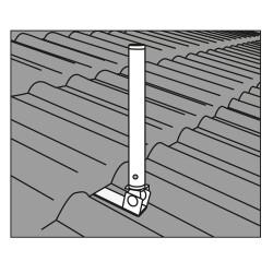 Montagezeichnung der Antennenhalterung - Teil 2