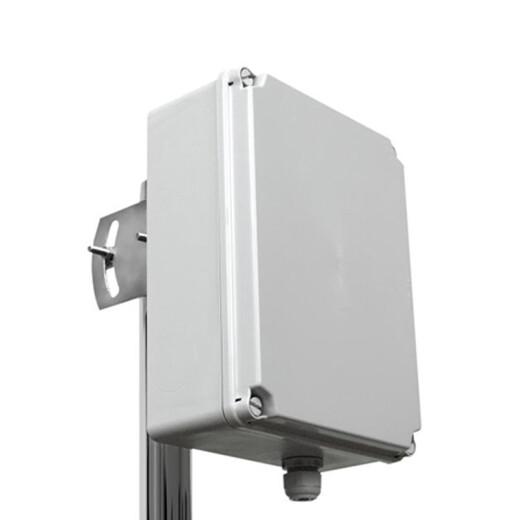 Kunststoffgehäuse zur Mastmontage, Wetterfest, 24.1 x 18 x 9.5cm