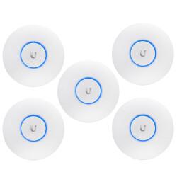 UniFi UAP-AC-Lite-5 - 5 x UAP AC Lite Accesspoint