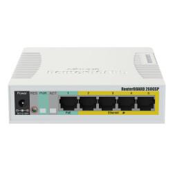 MikroTik 260 GSP Gigabit Switch mit 5 x RJ45 Port, 1 x...