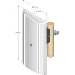 Interline SECTOR V80 Sektor Antenne für 5GHz WLAN...