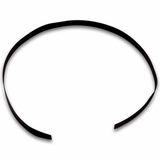1m Schrumpfschlauch 2:1 schwarz Durchmesser 9.5mm