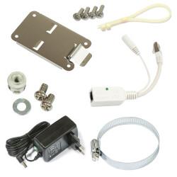 Montagezubehör und Lieferumfang vom Mikrotik NetMetal 5SHP