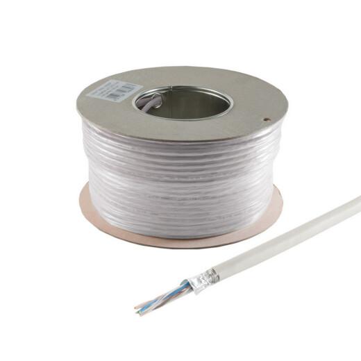 100m Ring mit CAT5e Kabel und halogenfreiem Mantel