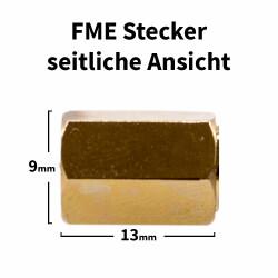 FME Stecker für H-155, RF-5, RF-240 Kabel