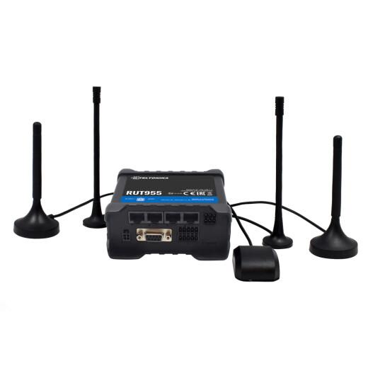 TELTONIKA RUT955 GLOBAL LTE Router Weltweiter LTE Empfang, Dual SIM, WLAN AccessPoint und GPS
