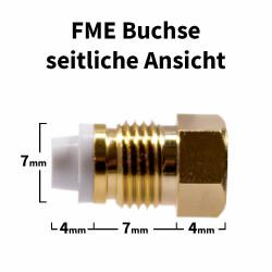 FME Buchse für H-155, RF-5, RF-240 Kabel