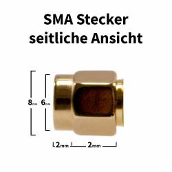SMA Krimp-Stecker für H-155, RF-5, RF-240 Kabel