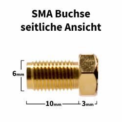 SMA Buchse (weiblich) für H-155, RF-5, RF-240 Kabel