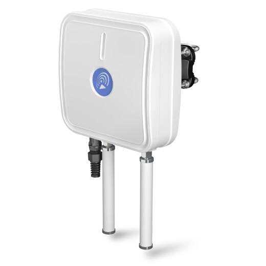 QuMax A955M LTE und GPS Multiband Richtantenne für den Teltonika RUT955 Router mit einem Leistungsgewinn von bis zu 6dbi wetterfest