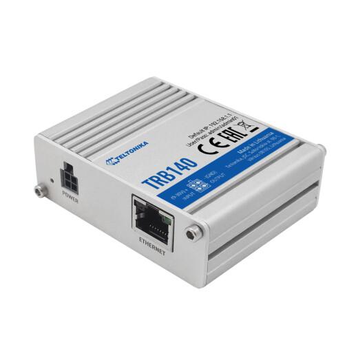 TELTONIKA TRB140 LTE Gateway in Aluminiumgehäuse mit RJ45 Ethernet Port
