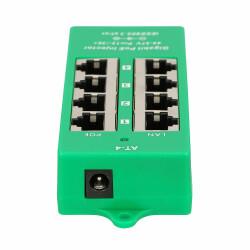 4-PoE Gigabit PoE Injektor - 802.3af/at Konform