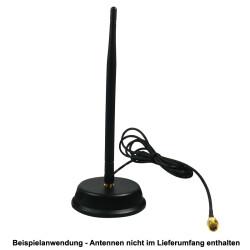 Anwendungsbeispiel mit einer aufgeschraubten WLAN Antenne