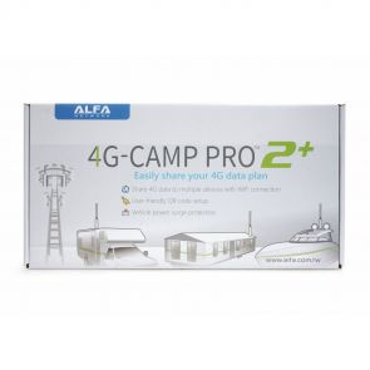 ALFA Network 4G Camp Pro 2+ - Komplett Set für den mobilen LTE Empfang