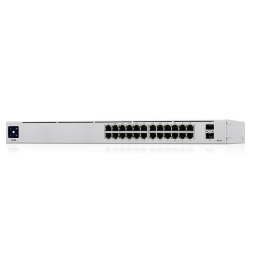 Ubiquiti UniFi Switch USW-24-POE mit 24 x RJ45 und 2 x SFP Ports
