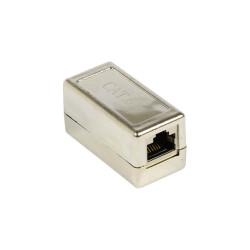 CAT.6A Ethernet Kupplung mit Metallgehäuse und 2 x RJ45...