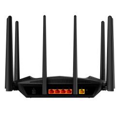 Rückseite mit Gigabit Ethernet und WAN Port