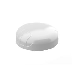 Vogelperspektive der weißen Puck-5 Antenne