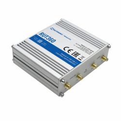 Seitliche Ansicht des RUT360 mit Antennenanschüssen für LTE und WLAN