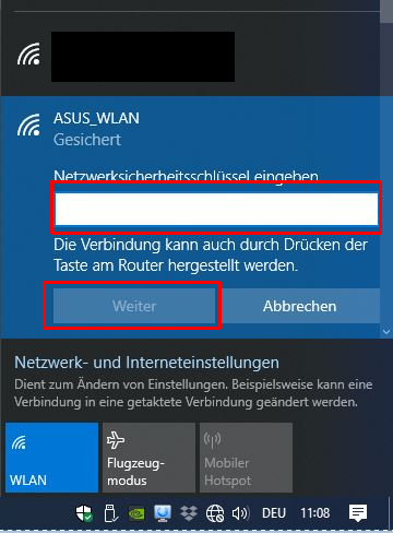 ASUS RT-N12E als Access Point - Schritt 10